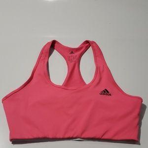 Adidas Pink & Black Sports Bra Size L